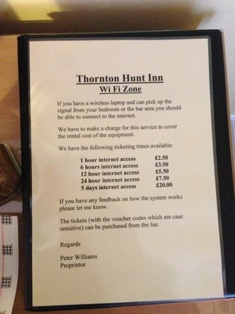 ‪The Thornton Hunt Inn‬