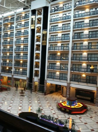 atrium picture of renaissance austin hotel austin. Black Bedroom Furniture Sets. Home Design Ideas