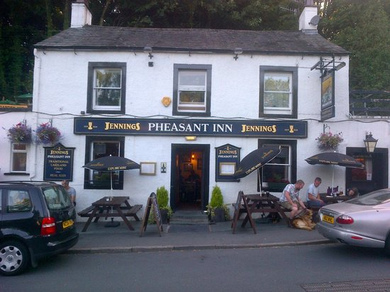 Derwent water near keswick picture of the pheasant inn for The pheasant pub london