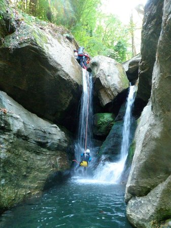 Canyoning in Pelion - Picture of Mount Pelion, Thessaly ...