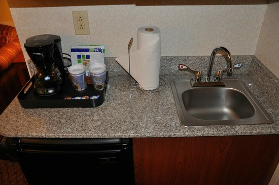 Holiday Inn Express Sharon/Hermitage: Attention to detail