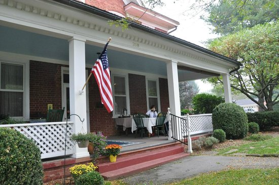 The James Wylie House: Front porch