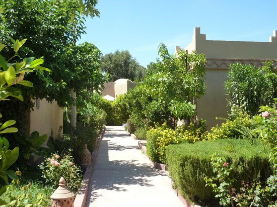 Hotel Dar Zitoune: Hotel Gardens and cottages
