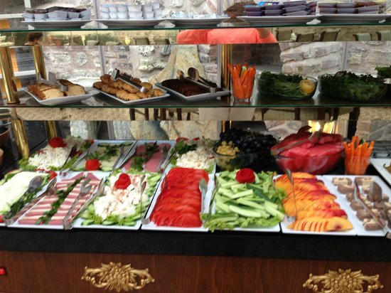 Breakfast selection picture of enderun hotel istanbul for Enderun hotel istanbul