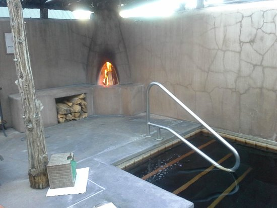 Private Pool and Fireplace - Picture of Ojo Caliente ...