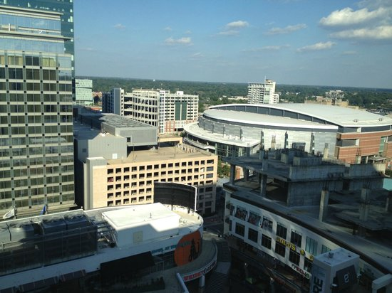 Aloft Charlotte Uptown at the EpiCentre: View from the room