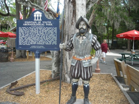 Juan Ponce De Leon - Picture of Fountain of Youth ...