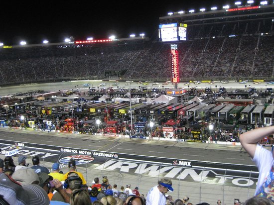 From Our Seats Picture Of Bristol Motor Speedway