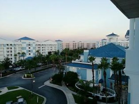 Resort view from our floor picture of bluegreen fountains resort