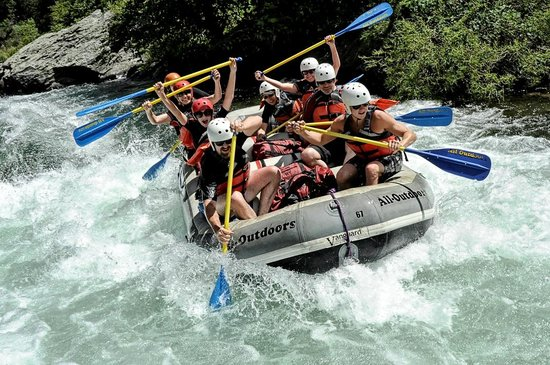 All-Outdoors California Whitewater Rafting - Day Trips