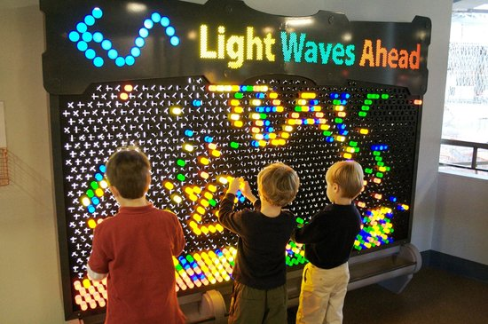 Giant Light Bright Picture Of The Children S Museum Of