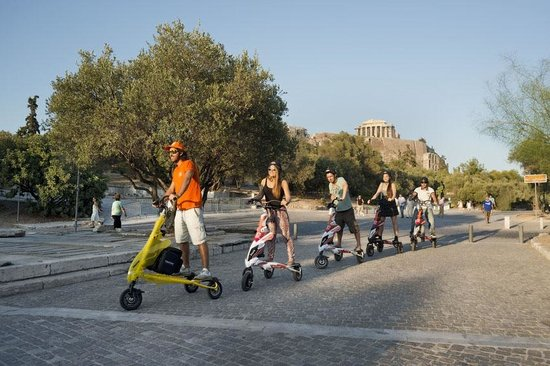 Scooterise Experience Athens Tours