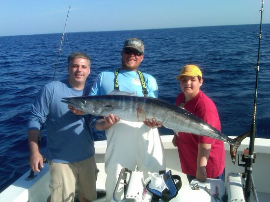 First sail picture of captain easy private fishing for Private fishing charters