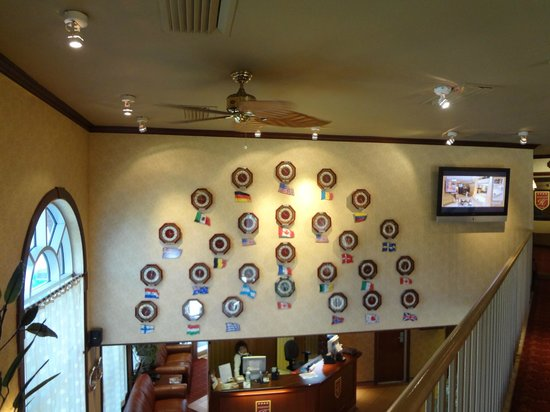 Trois-Rivieres, Canada: Lobby