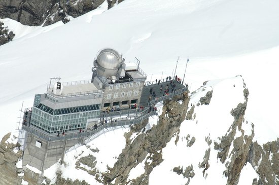 Jungfraujoch Top Of Europe  Must See In Switzerland  Picture Of Helicopter