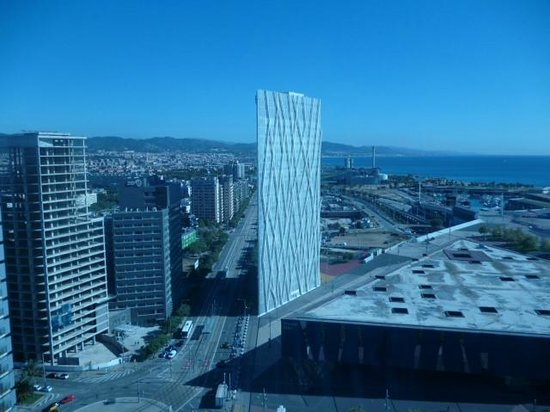 View from the hotel window picture of ac hotel barcelona - Ac hotels barcelona ...