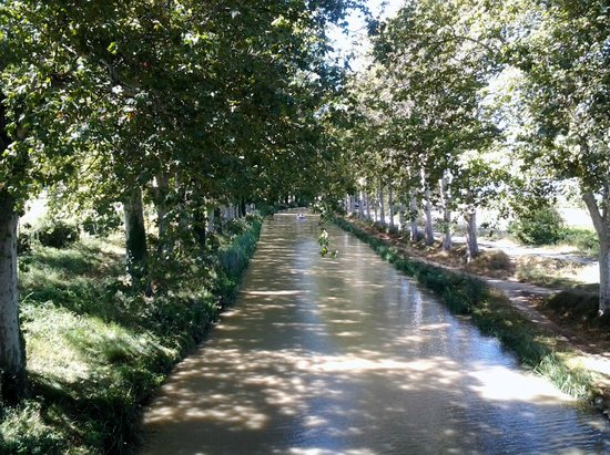 canal du midi photo de r sidence les berges du canal b ziers tripadvisor. Black Bedroom Furniture Sets. Home Design Ideas