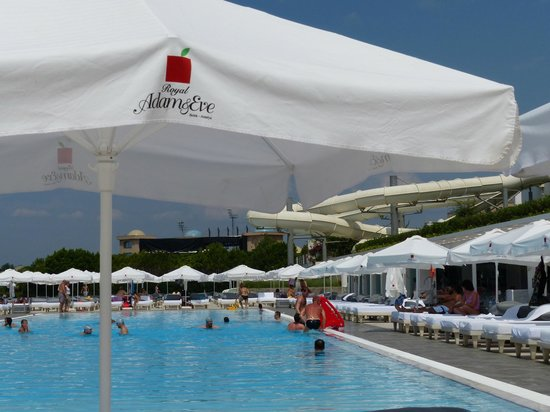 Animasyon picture of royal adam eve hotels belek for Piscine 07500
