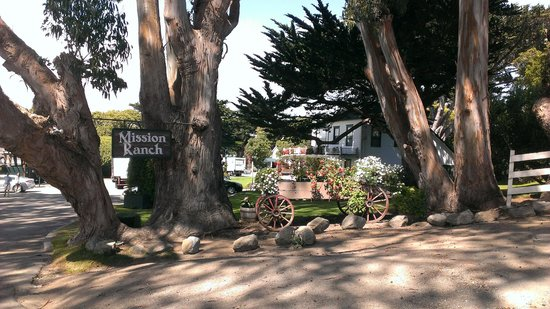 Mission Ranch: The entrance
