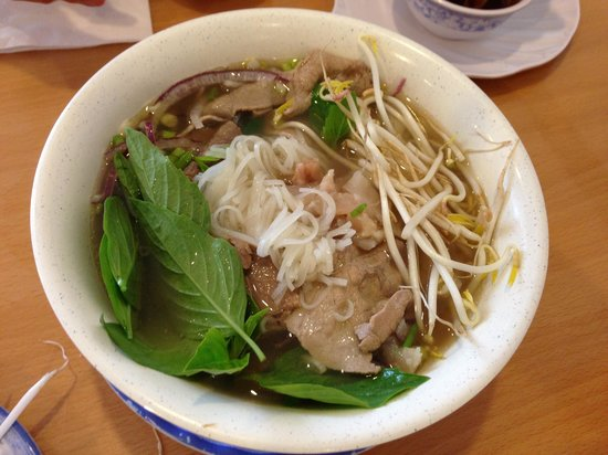 Beef combination & Meatballs noodle soup - Picture of Pho Quyen ...