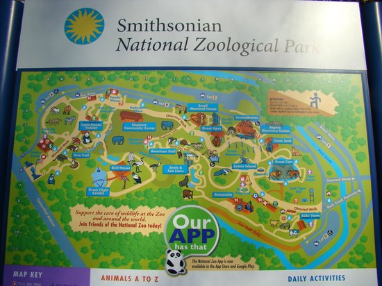 Zoo in dc parking - Park dental st paul Zoo Dc Map on