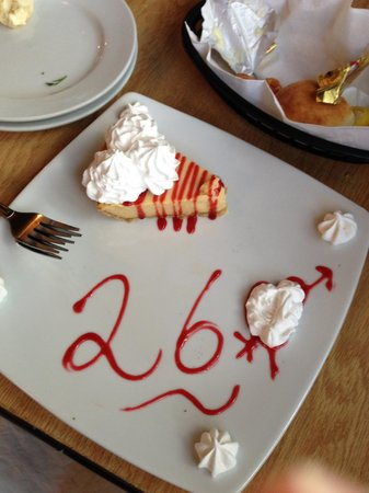 Our dessert for our 26th anniversary picture of hot fish for Hot fish club murrells inlet
