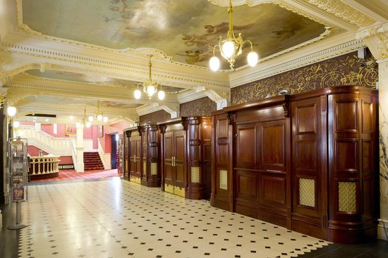 newcastle theatre royal foyer picture of theatre royal. Black Bedroom Furniture Sets. Home Design Ideas