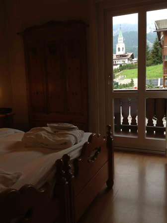 Mountain view foto di meuble villa neve hotel cortina d for Hotel meuble villa neve cortina