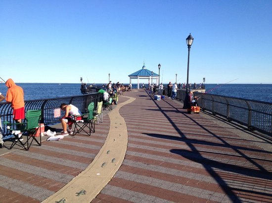 ocean breeze fishing pier picture of staten island new