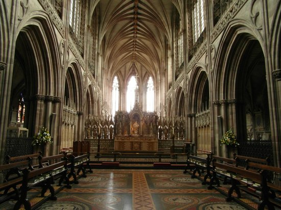 Cathedral Detail Picture Of Lichfield Cathedral Lichfield Tripadvisor