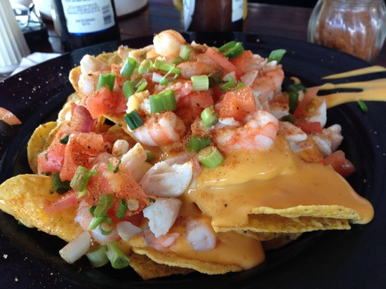 Seafood Nachos - Picture of Waterman's Crab House, Rock Hall ...