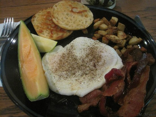 Stonehouse Bed and Breakfast: Breakfast - Delicious Apple!