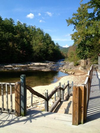 Swimming Hole Amp Beach Area Picture Of Brown Mountain Beach Resort Lenoir Tripadvisor