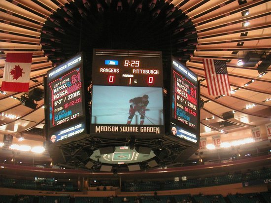 Chase Skybridge Section 311 Bs3 Seat 20 Picture Of Madison Square Garden New York City