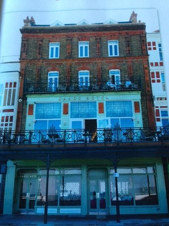The Hotel 39 S From The Bay Picture Of Sands Hotel Margate Tripadvisor