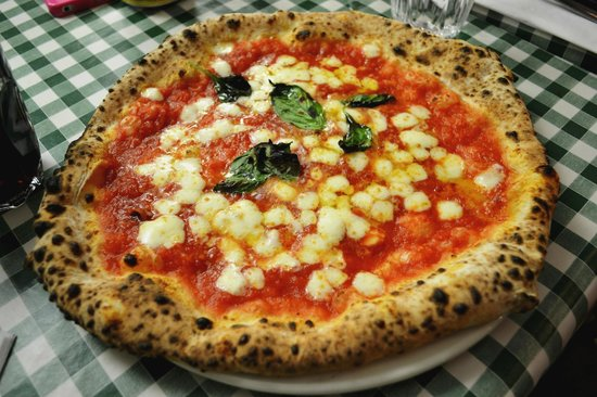 margherita with fior di latte  get it with buffalo