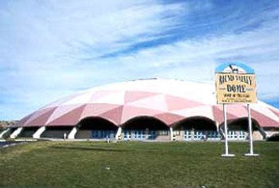 Eagar, AZ: Round Valley High School Dome