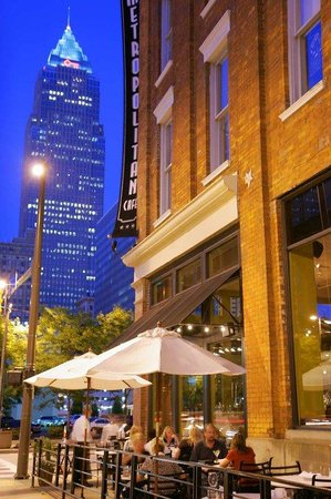 Cleveland dining picture of hilton garden inn cleveland Downtown at the gardens restaurants