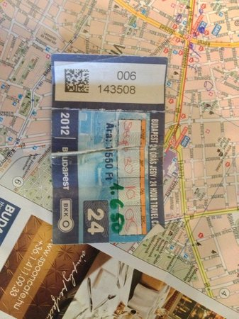 Firstapartments Inn City Center: Was shown what type of public transport tickets we could get during introduction