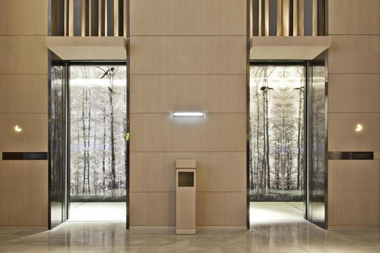 Lift picture of the east hotel hangzhou hangzhou for Design hotel east