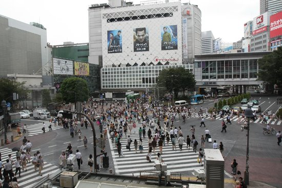 Photos of Shibuya Pedestrian Scramble, Shibuya