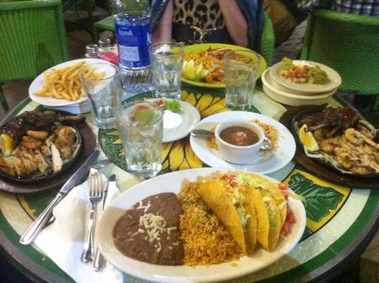 Dinnner Picture Of El Chico Mexican Food Restaurant