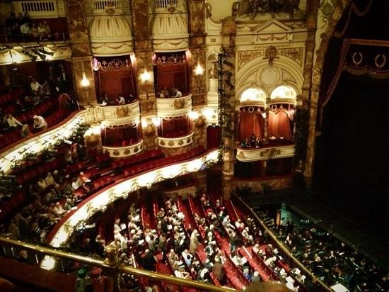 View Balcony Seats London Coliseum The London Coliseum View From