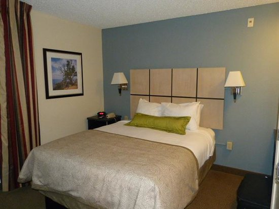 nice bedroom picture of candlewood suites las vegas las vegas