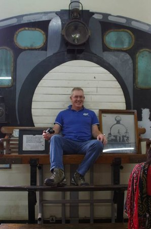 Railway Museum: The seat where Rosevelt sat to shoot game