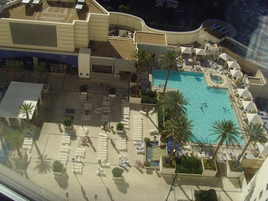 One Of The Swimming Pools Picture Of Planet Hollywood Resort Casino Las Vegas Tripadvisor