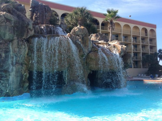 Pool With Grotto Picture Of Ramada Plaza Fort Walton