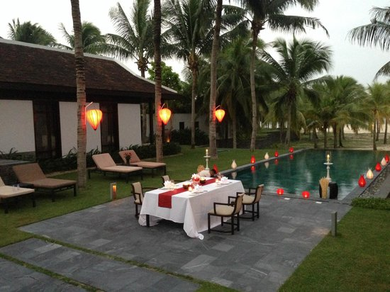 The Nam Hai Hoi An - a GHM hotel: barbecue