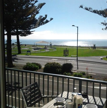 The Nautilus: The view from the balcony at breakfast!