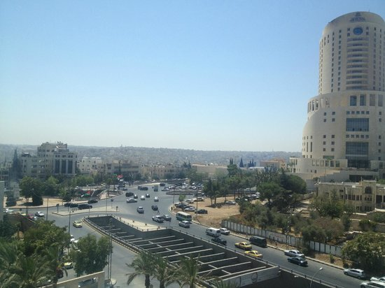 Grand Hyatt Amman: The view from my room